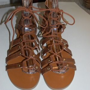 e8cb80c514d73 Canyon River Blues Shoes - NWOB Canyon River Blues Brown Gladiator Sandals